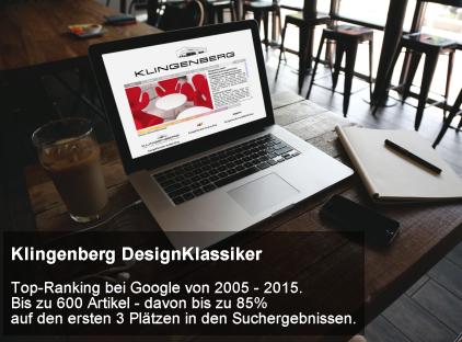 Responsives Webdesign bei einer One-Pager Homepage im Auftrag eines Kunden